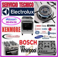 Servicio tecnico de cocinas a gas electrolux y mantenimientos