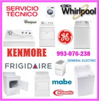 Servicio técnico de lavadoras whirlpool y mantenimientos 993-076-238