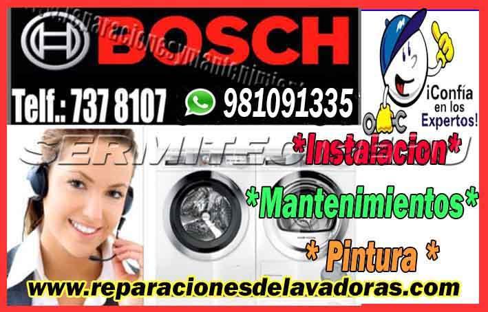 A1 Técnicos de Lavadoras BOSCH|981091335 en  Santa anita
