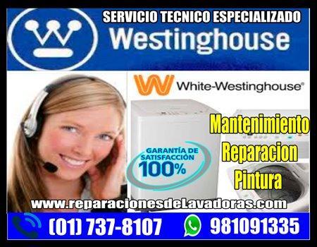 White Westinghouse 7378107| Técnicos de lavadoras en Jesús María