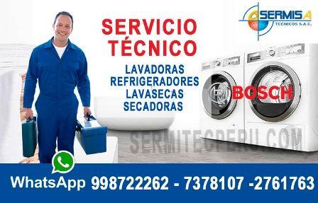 @utoriz@dos BOSCH| 981091335| Expertos en Lavadoras –Secadoras/ Rimac