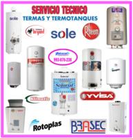 Reparaciones de termas brasec 993076238