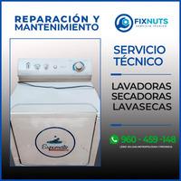 REPARACION Y MANTENIMIENTO DE LAVADORAS -FIXNUTS- 960459148 EN GENERAL
