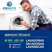 SOPORTE TECNICO DE LAVADORAS-LAVASECAS EN GENERAL HA DOMICILIO 960459148
