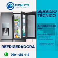 FIXNUTS TECNICO DE REPARACION DE LAVADORAS Y REFRIGERADOR HA DOMICILIO 960459148