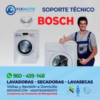 SERVICIO TECNICO FIXNUTS MANTENIMIENTO DE LAVADORAS EN BOSCH