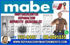 TRUSTED! Reparación Lavadoras.Secadoras [[MABE]] 017378107- San Juan de Miraflores