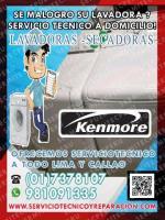 Plus! Reparación de Lavadoras【 KENMORE】017378107» San juan de Lurigancho