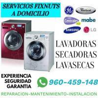 REPARACIONES DE LAVADORAS Y SECADORAS A DOMICILIO 960459148