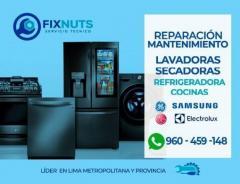 Servicio técnico de lavadoras MABE reparación y mantenimientos 960-459-148