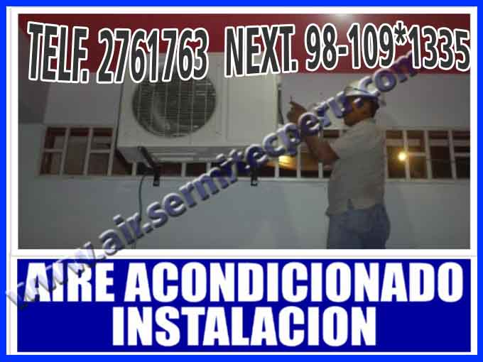 ≤ ON TIME 2761763 AIRE ACONDICIONADO LG, SAMSUNG, SAN ISIDRO≥