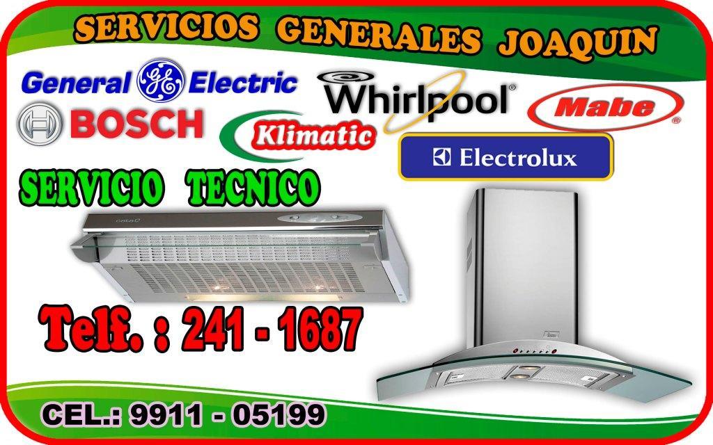El mejor servicio tecnico de CAMPANAS E. cocinas 2411687 La Molina