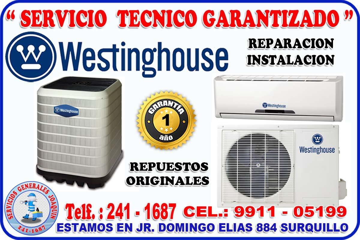 Servicio técnico * WESTINGHOUSE * aire acondicionado 2411687