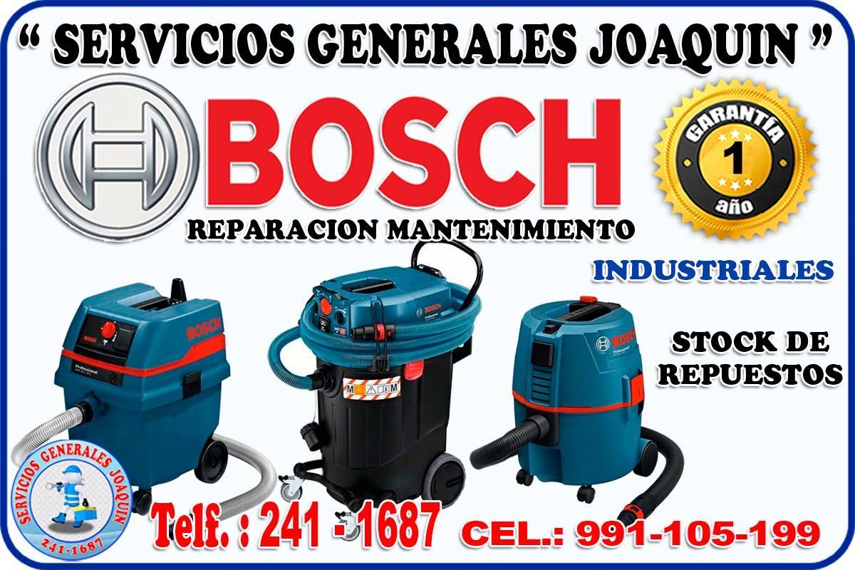 Servicio técnico reparacón de aspiradoras industriales BOSCH 241-1687