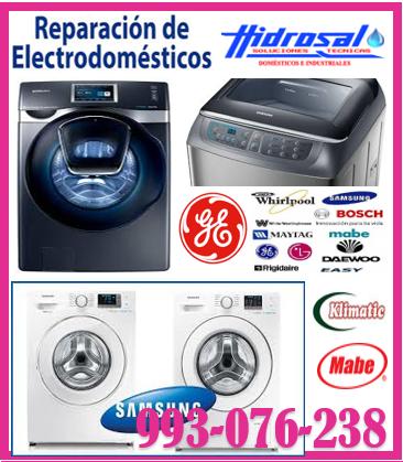 SERVICIO DE REPARACIONES DE LAVADORAS Y REFRIGERADORAS LG