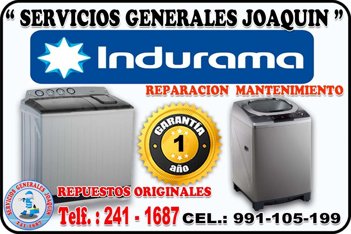✿ INDURAMA ✿  servicios técnicos lavadora, refrigeradora 2411687