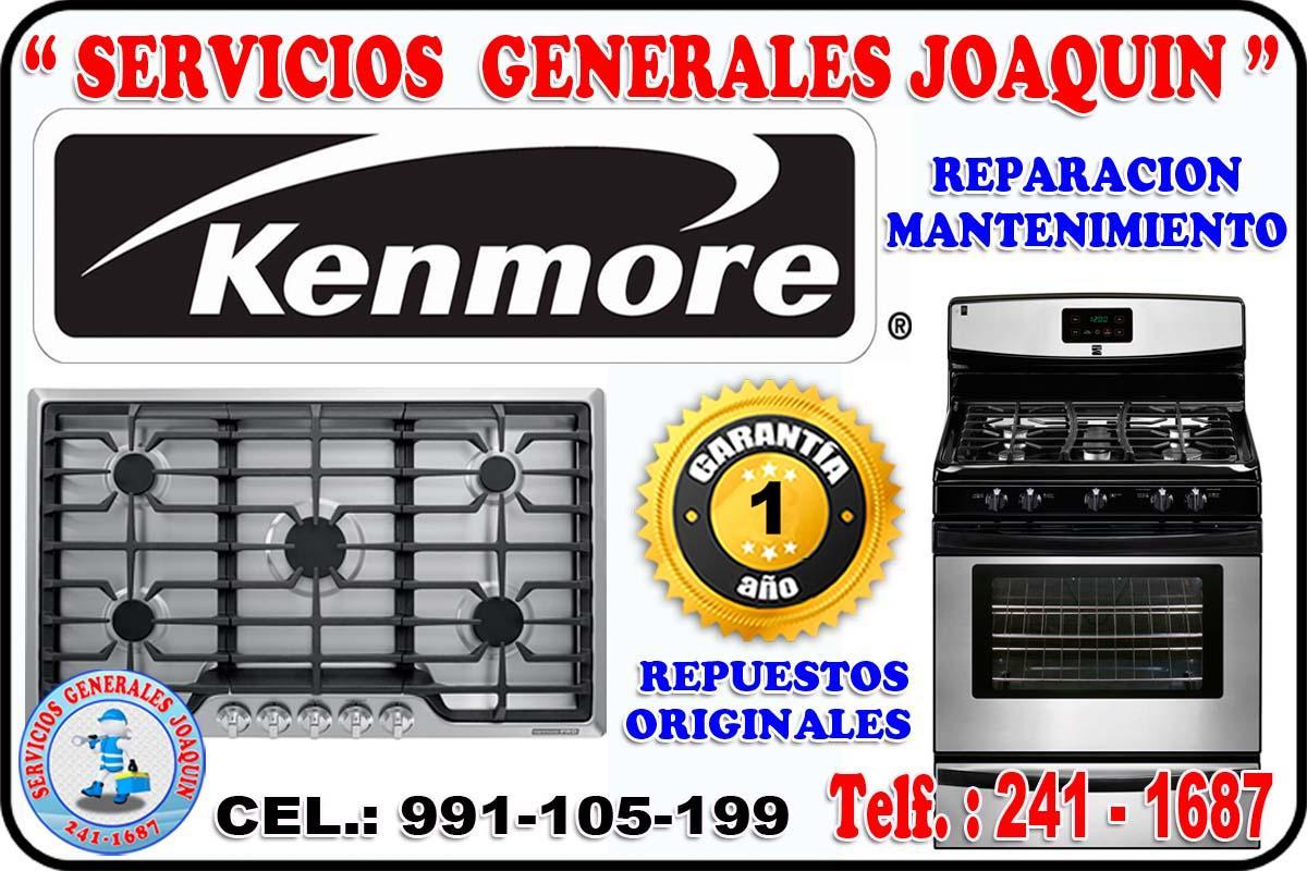 Servicio técnico ** KENMORE ** lavasecas,  secadoras 991-105-199