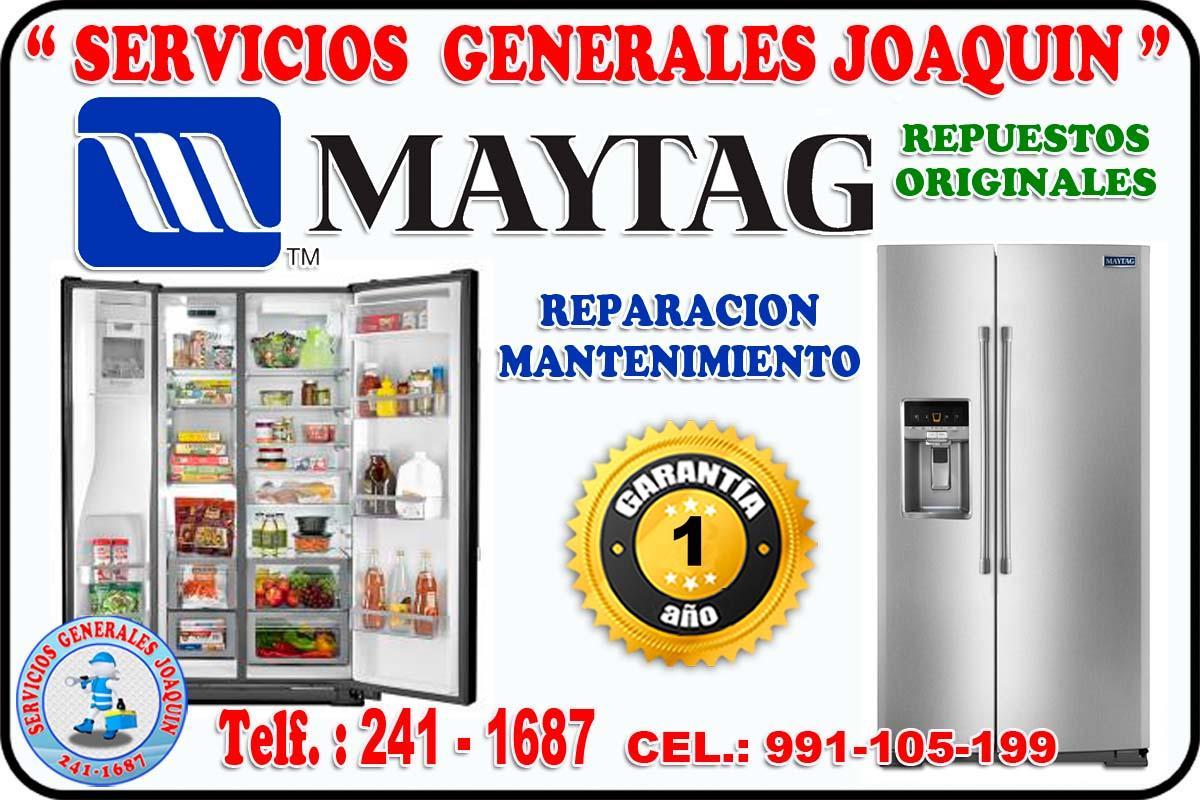 Servicio técnico = MAYTAG = lavadoras, cocinas,  refrigeradores 991-105-199