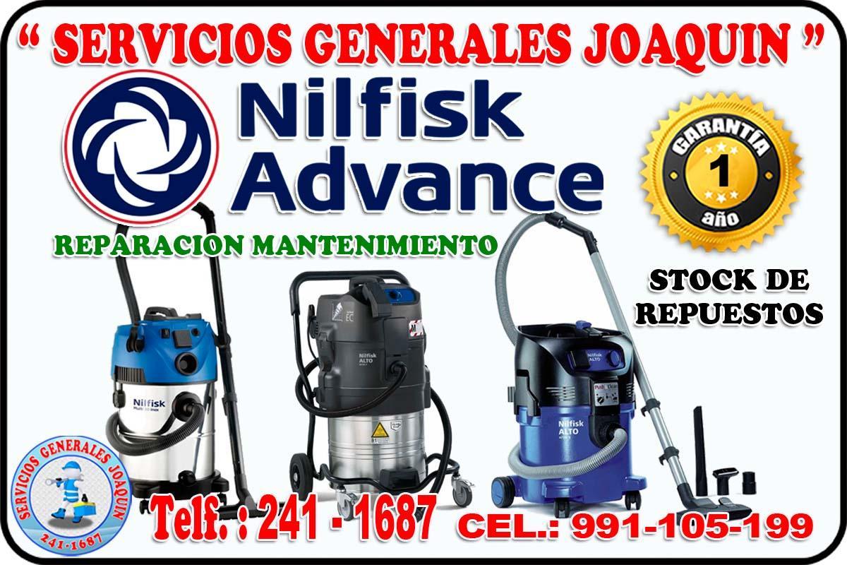 Servicio técnico reparación de  aspiradoras  LUX  241- 1687 en lima peru