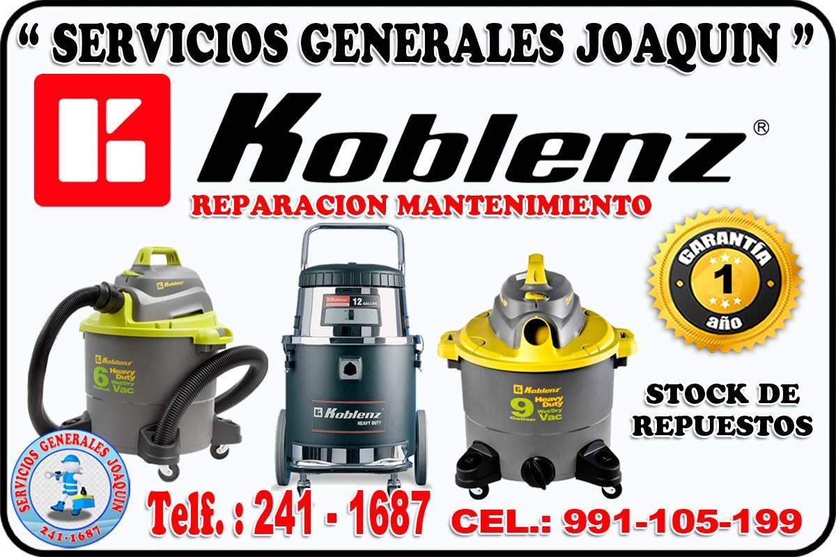 Servicio técnico reparacón de aspiradoras industriales THOMAS 241-1687