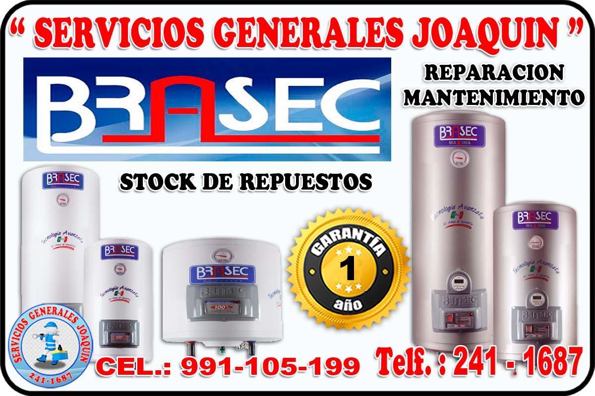 Servicio técnico BRASEC termas y termo tanques 241-1687 en lima peru