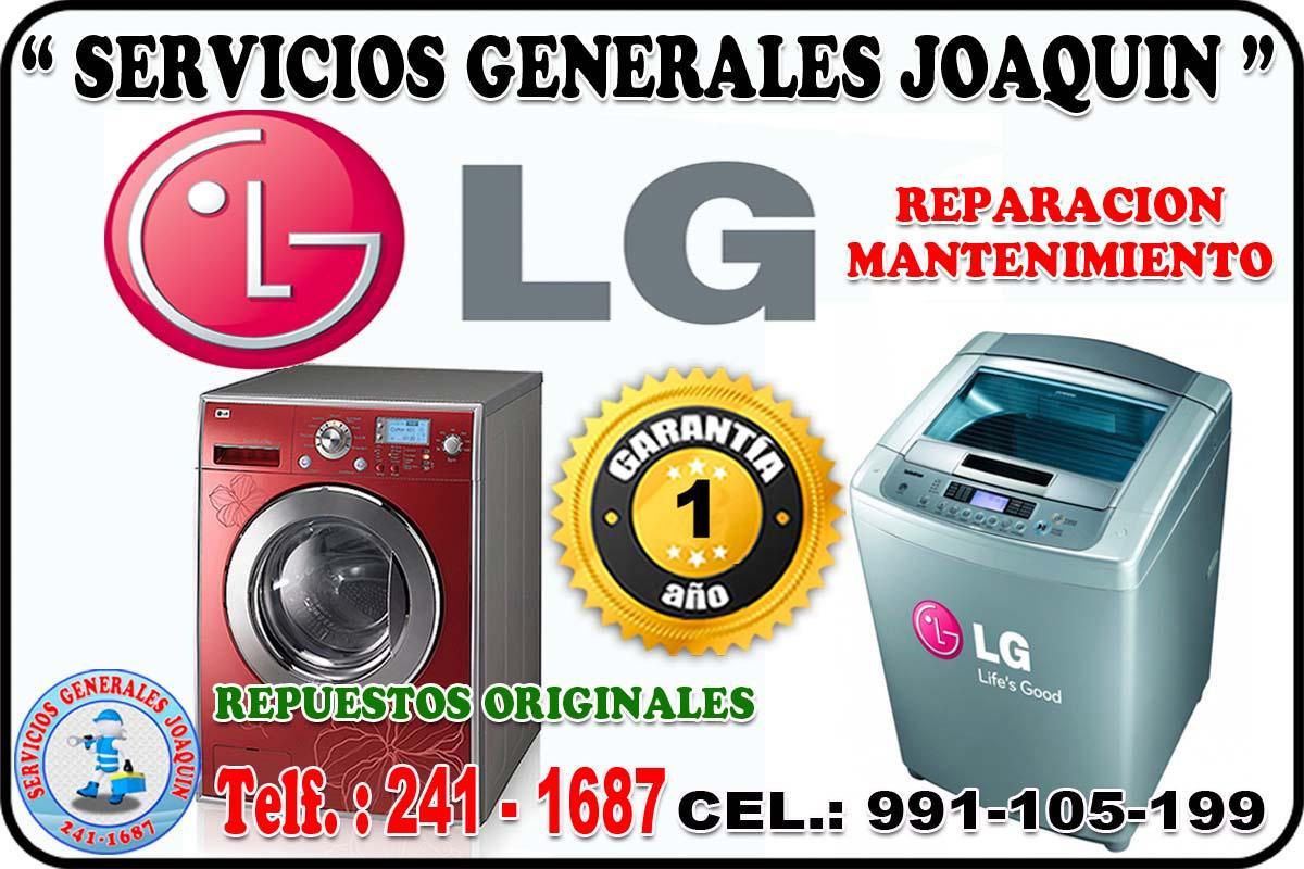 Servicio técnico * L G * lavadoras, refrigeradoras en lima peru 991-105-199