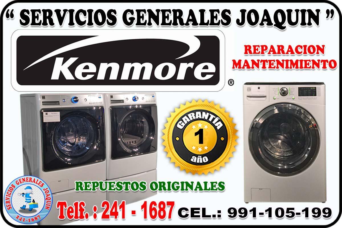 Servicio técnico * KENMORE * lavadoras, lavasecas,  secadoras 991-105-199