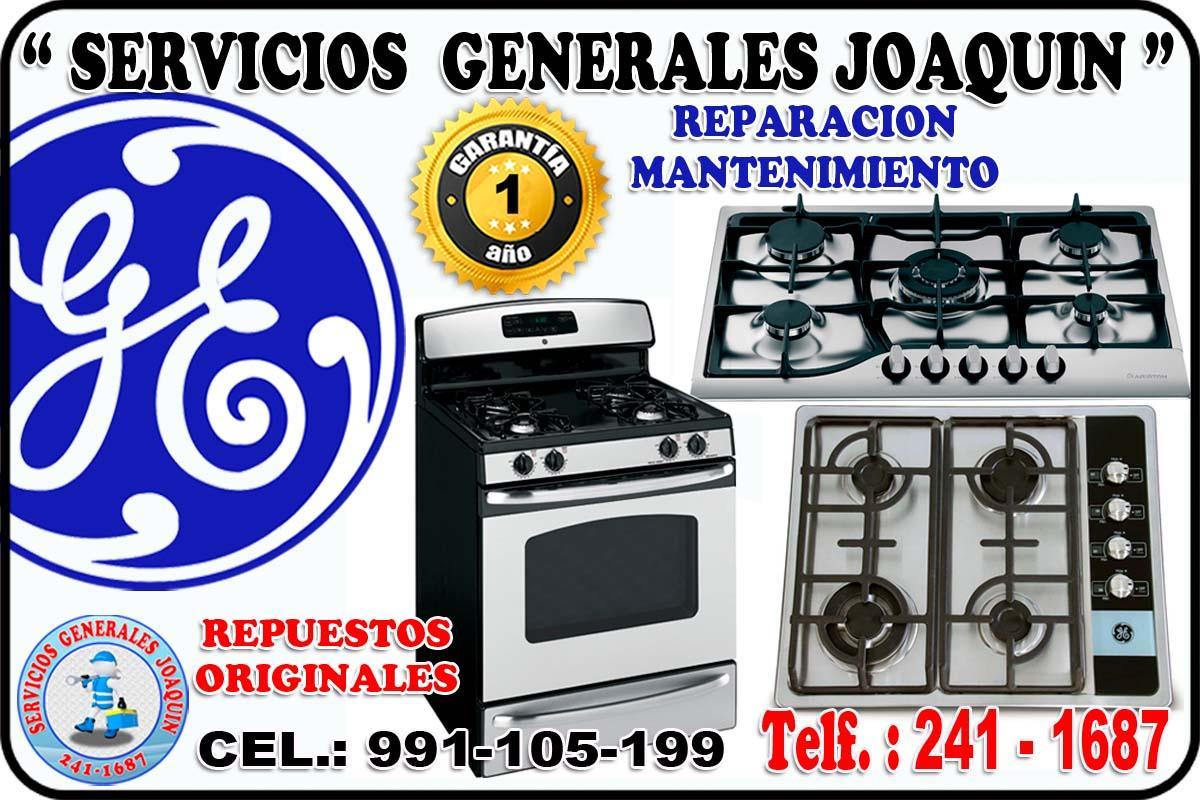 Mantenimiento = GENERAL ELECTRIC = lavasecas, refrigeradores 991-105-199