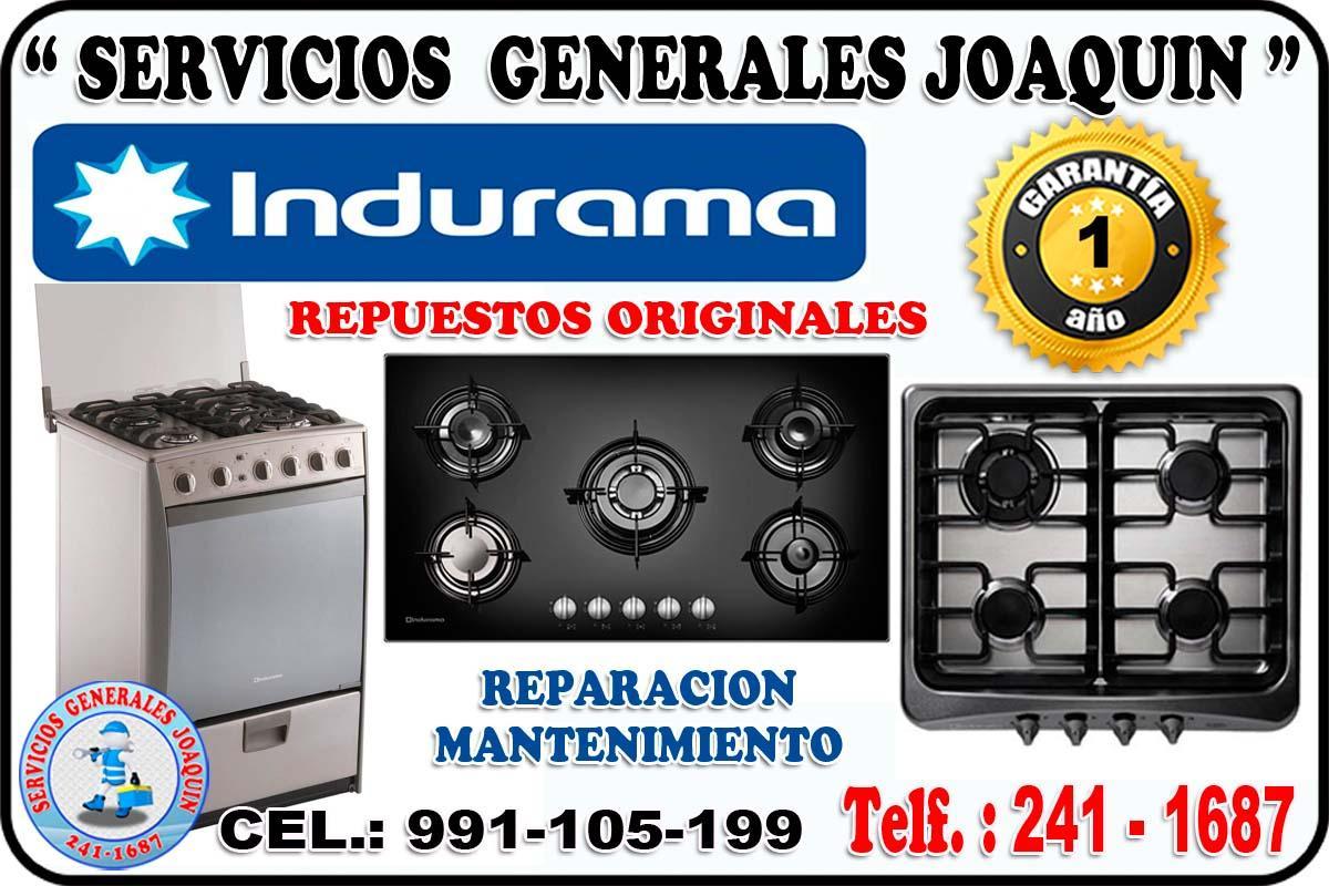 Servicio técnico = INDURAMA = lavadoras, cocinas, refrigeradores 241-1687
