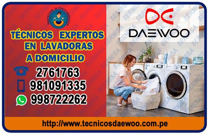 ¡Expertos! en Reparación de Lavadoras Daewoo 2761763- Chorrillos