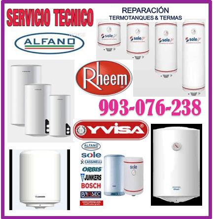 SERVICIO DE MANTENIMIENTO DE TERMAS A GAS Y ELÉCTRICAS 993-076-238