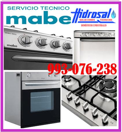 SERVICIO DE REPARACIONES DE COCINAS A GAS MABE 993-076-238