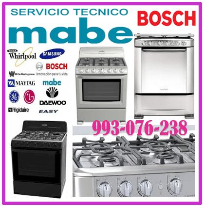 SERVICIO TÉCNICO BOSCH MANTENIMIENTO DE COCINAS A GAS 993-076-238