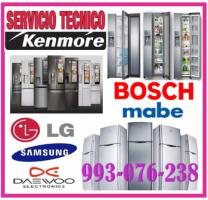 SERVICIO DE MANTENIMIENTO DE REFRIGERADORAS KENMORE