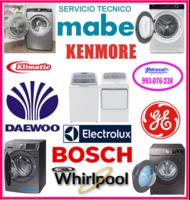 Servicio técnico de lavadoras Mabe