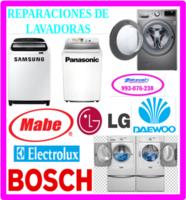 Reparaciones de lavadoras/secadoras electrolux y mantenimientos