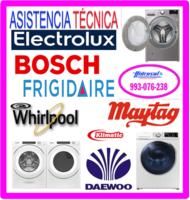 Servicio técnico de  lavadoras klimatic 993-076-238