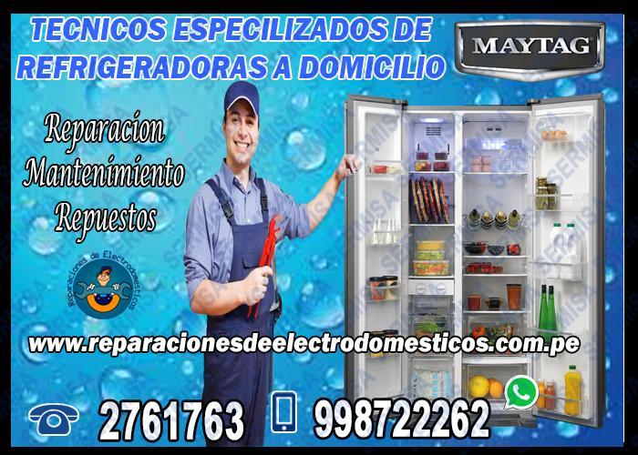 !Speedy! Servicio Tecnico MAYTAG 01-2761763 Secadoras*La Victoria*