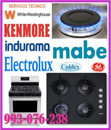 Reparación y mantenimiento de cocinas a gas Kenmore