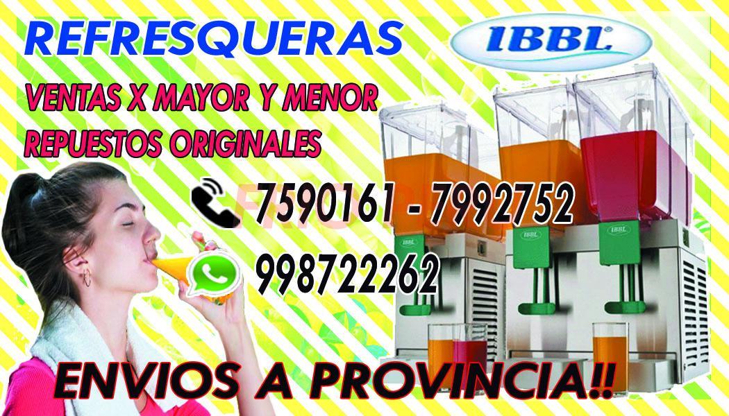 REFRESQUERAS -CHICHERAS IIB -BBS2 998722262 REPUESTOS ORIGINALES -LIMA