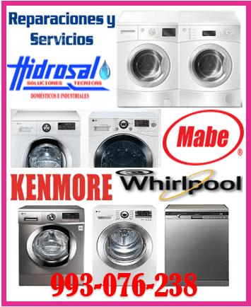 Técnicos de lavadoras westinghouse y mantenimientos