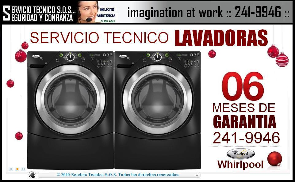 {{}} 2419946 === SERVICIO TECNICO DE LAVADORAS WHIRLPOOL === SERVICE {{}}