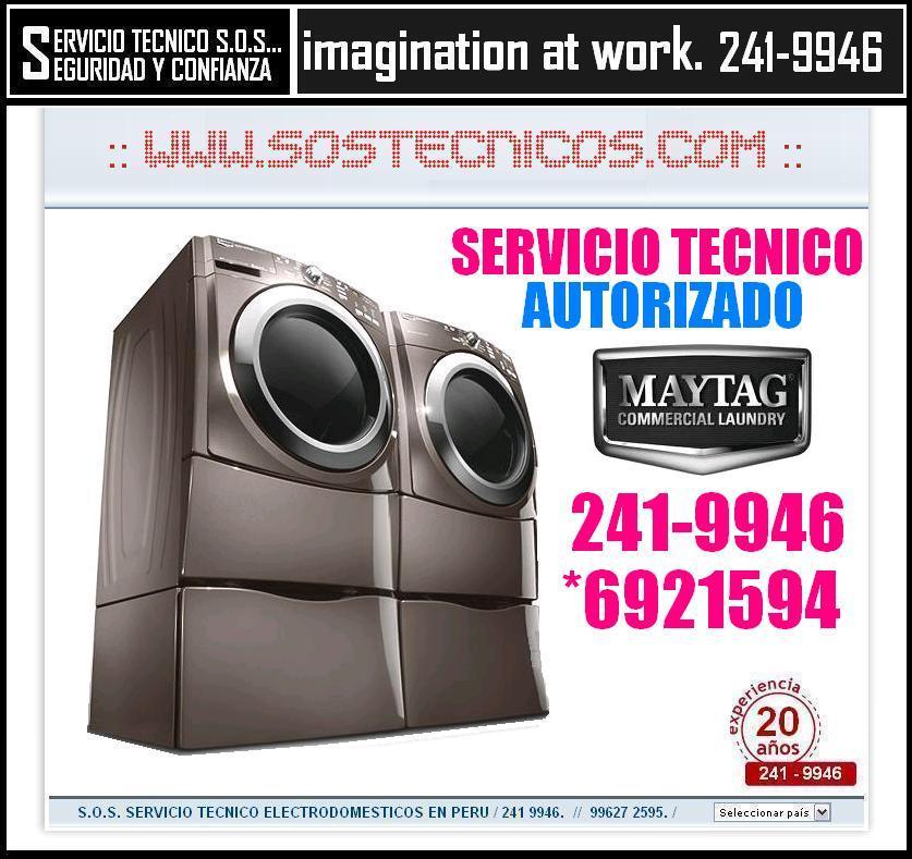{{}} 2419946 === SERVICIO TECNICO DE LAVADORAS MAYTAG === SERVICE {{}}
