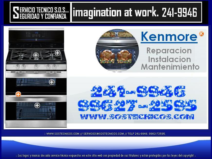 {{}} 2419946 === SERVICIO TECNICO DE COCINAS KENMORE A GAS === SERVICE {{}}