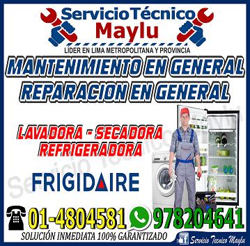 Oferta Original((Mantenimiento Frigidaire En Secadora))7576173 - En Pueblo Libre