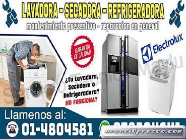 Garantía Segura En La Victoria // Reparación En Centro De Lavado Electrolux - 4804581