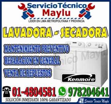 Increíble Comodidad Kenmore - 7576173 - Reparación Correctivo De Secadora En La Molina